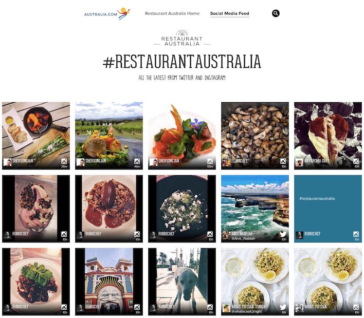 RestaurantAustralia_SocialFeed