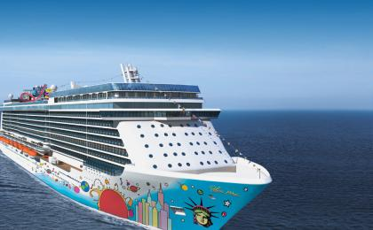 SkiftDesign: Norwegian releases images of 40,000 foot mural for new cruise ship