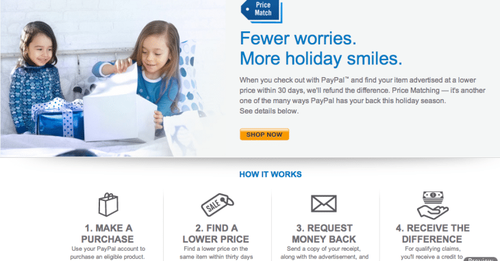 PayPal Price Matching on flights means you can collect twice on some fare drops