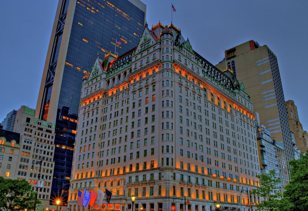 New York's Iconic Plaza Hotel Is Up on the Auction Block ...