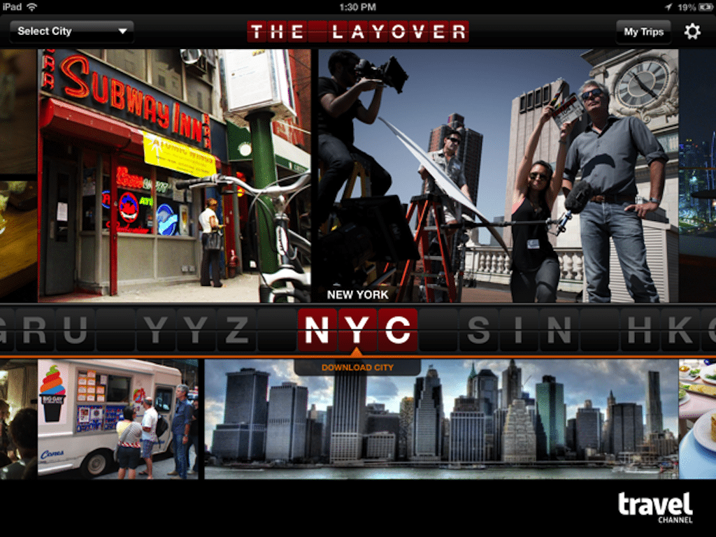 "Anthony Bourdain's Travel Channel Layover Guide iPad app picked as 2012 ""Hidden Gem"""