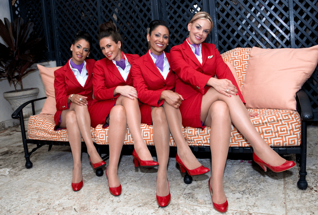 A promotional image from Virgin Atlantic.