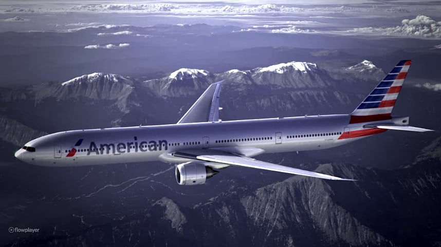 Here's the new look that American Airlines launched today