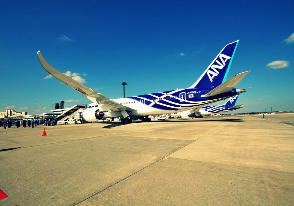 Flying the new ANA's 787 Dreamliner from San Jose to Tokyo, nevermind safety issues
