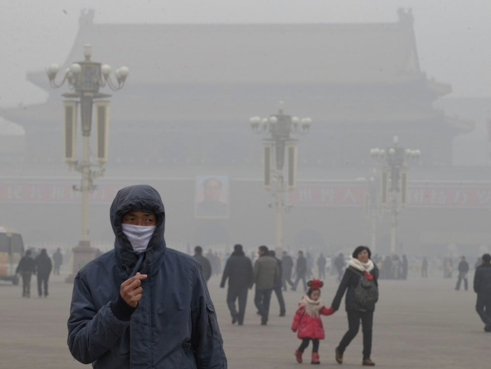 Beijing Still Has a Massive Pollution Problem for Tourists and Locals Alike