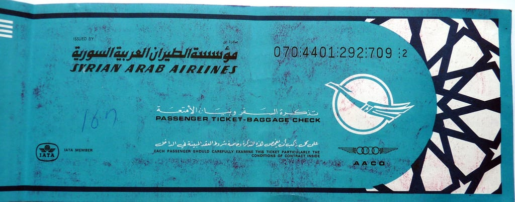 The Syrian government's cozy relationship with the world's leading airline ticketing companies