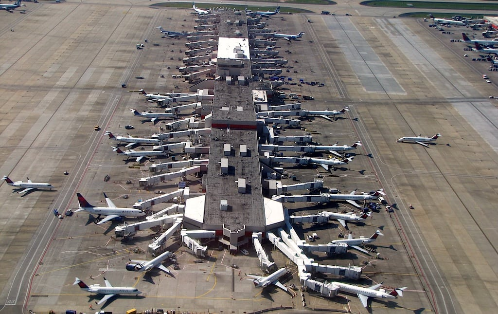 Atlanta's airport is still the world's busiest as 2012 traffic sets a new record