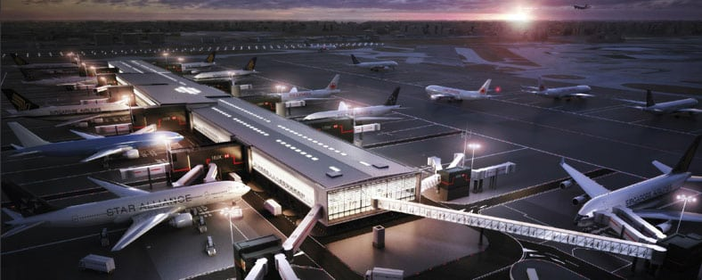 Heathrow's $4 billion new Star Alliance terminal is modeled after newer Asian hubs