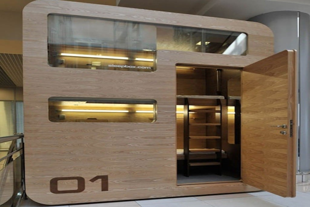 The Japanese-style Sleepbox is popping up in cities around the world.