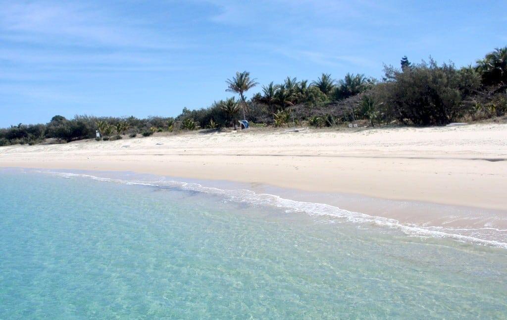 Fisherman's Beach on Great Keppel Island, Australia.