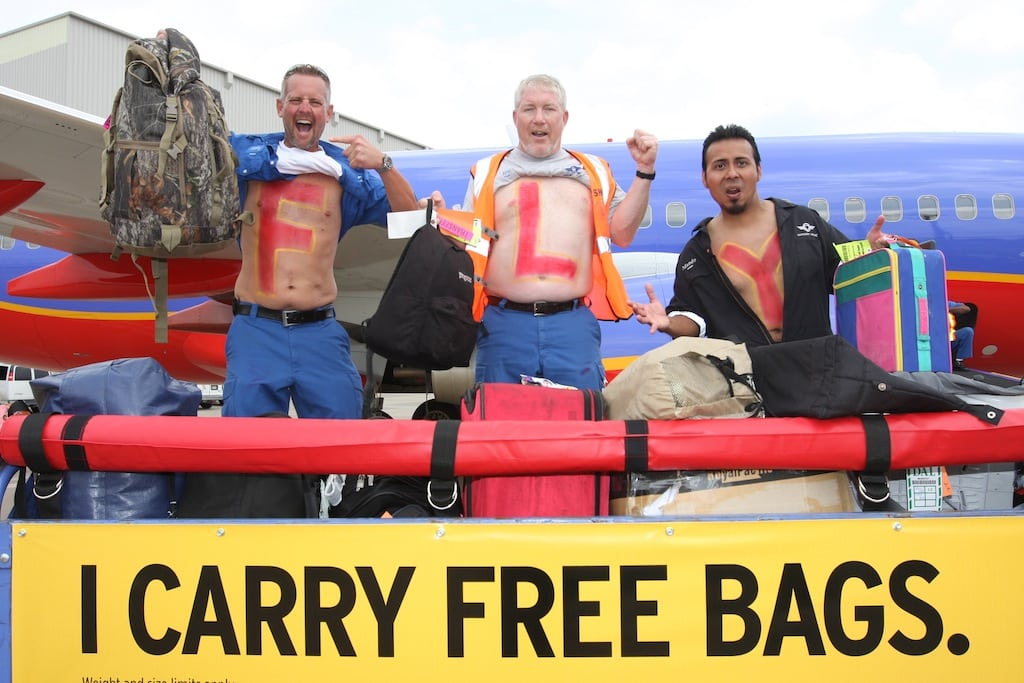 Southwest won't debut bag fees because it would lose $1 billion per year