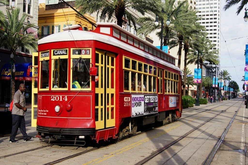 Travel New Orleans May