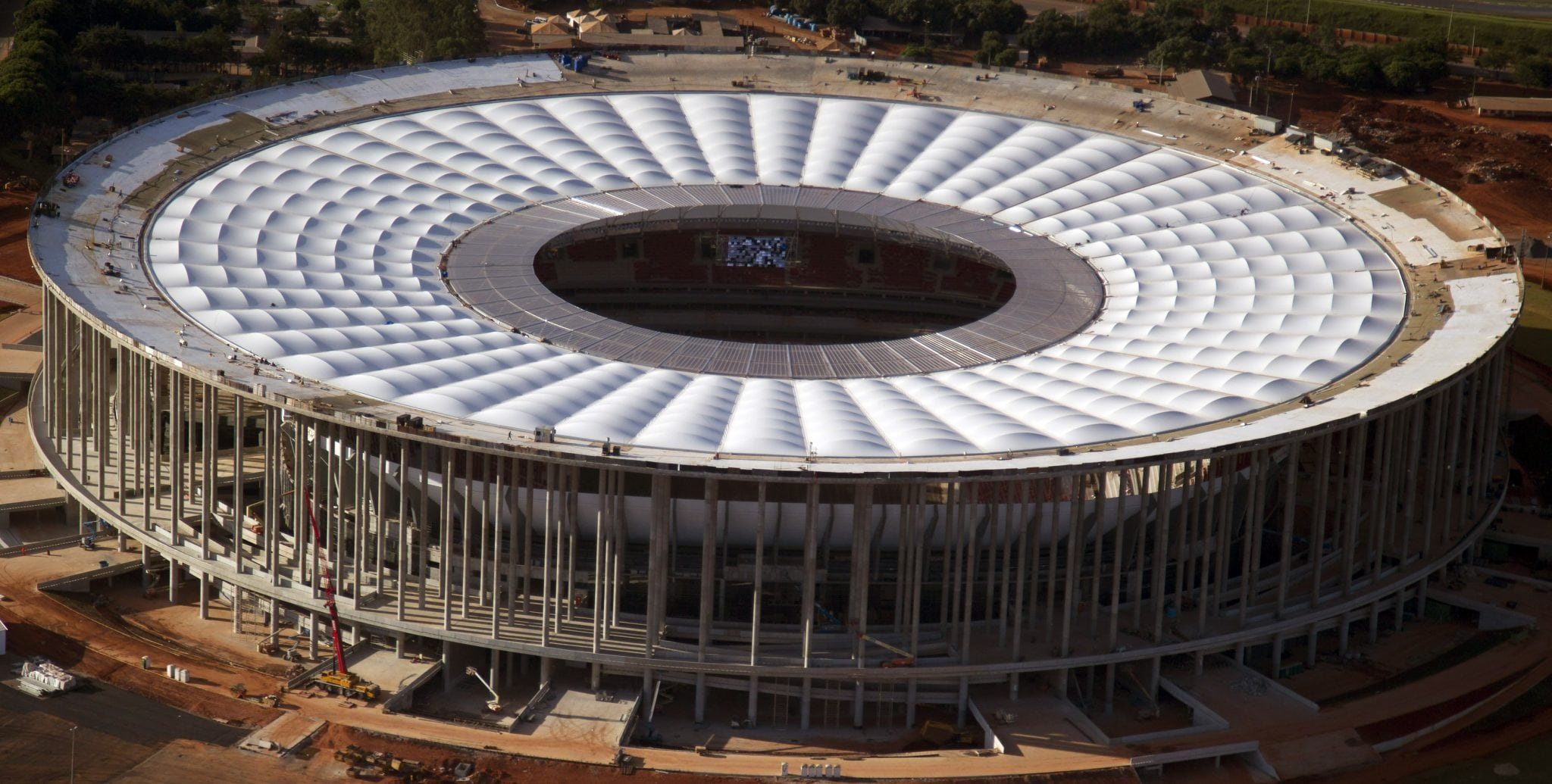 Brazil World Cup building: Spending boom on stadiums while sewage suffers