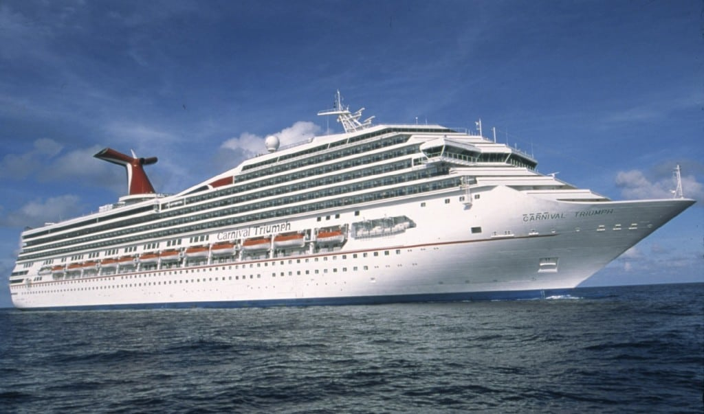 Carnival cruise ship, Carnival Triumph, is seen in this undated handout picture provided by Carnival Cruise Lines.