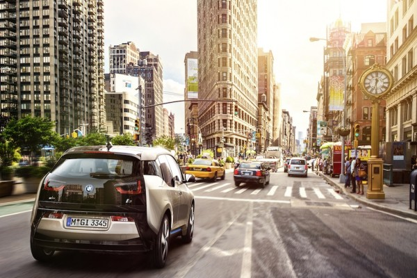 BMW Steps Up Electric Car Competition with New i3 Model