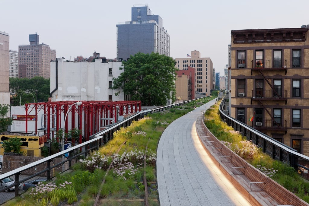 The idea of transforming the Highline from a rusty railroad track to an elevated park did not gain city support until 2002 when Mayor Bloomberg was elected.