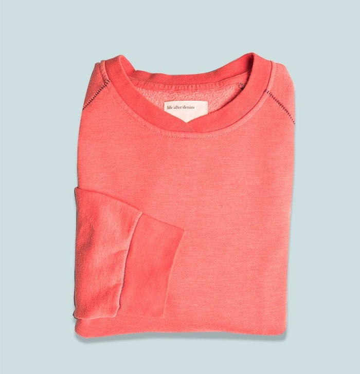 Sweatshirt: Even though it is still technically summer the temperature starts to dip at night, especially at the lake or in the mountains. A trusty, stylish sweatshirt will serve you well, form a chilly airplane cabin to a sunset stroll at the beach.