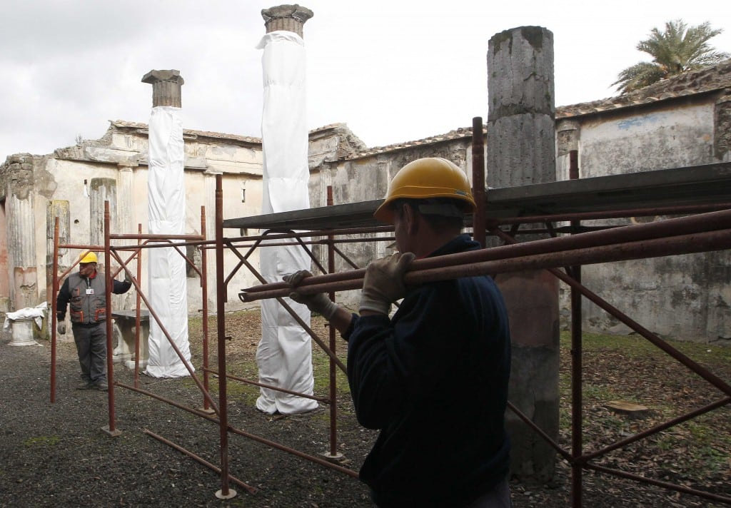 Italy Tries To Spare Ancient Pompeii From Ruin