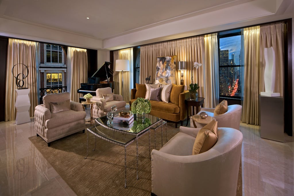 The 10 most expensive hotel suites in new york city skift - Hotel suites new york city 2 bedrooms ...