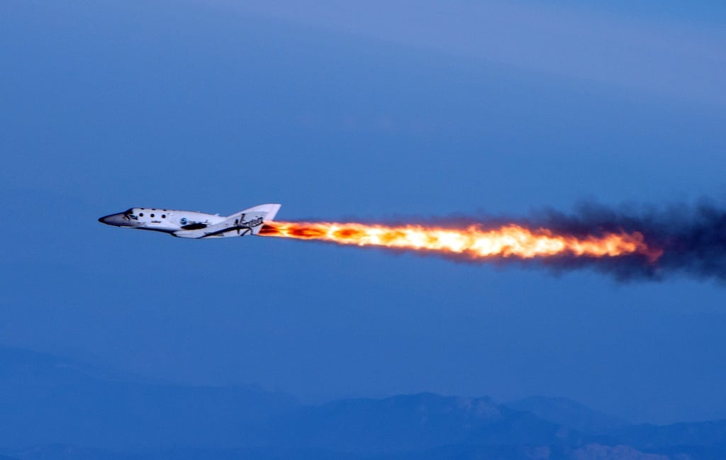 Virgin Galactic Takes Second Supersonic Test Flight