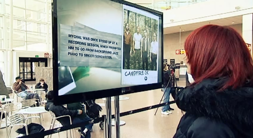 Best Arrivals Experience: Seattle-Tacoma International Airport, for of its 'Experience the City of Music' initiative. In addition to live bands performing in the terminal, the airport has installed music-related exhibitions, music from the likes of Ray Charles and Nirvana is played on the overhead speakers, famous artists read public announcements and music videos are featured on the baggage reclaim monitors.