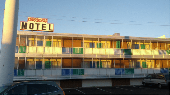 A motel that the show Breaking Bad transformed into a tourist destination Source: Butforthesky on Flickr