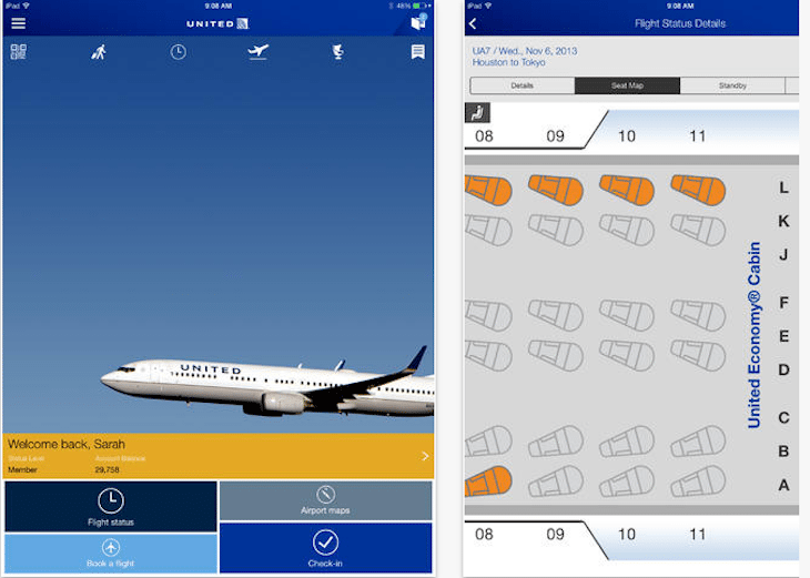 United Updates iOS App With Multiple-Flight Award Booking for Frequent Flyers