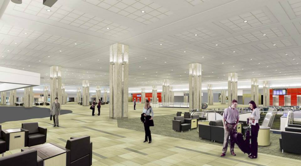 Tampa International Airport plans to make its main terminal more spacious.