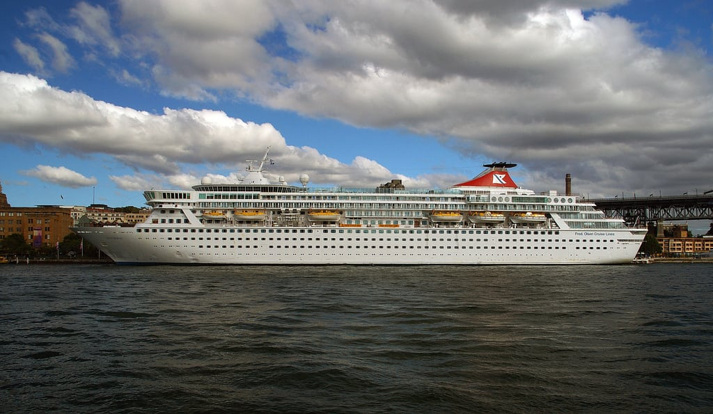 A quarter of all passengers fell ill onboard Fred Olsen's Balmoral cruise ship. Two hundred and thirty-eight of 1,163 total passengers fell ill during the 30-day voyage.