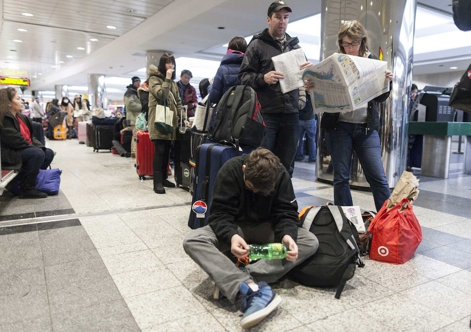 U.S. Airlines Lost $150 Million Due to Weather Delays This January
