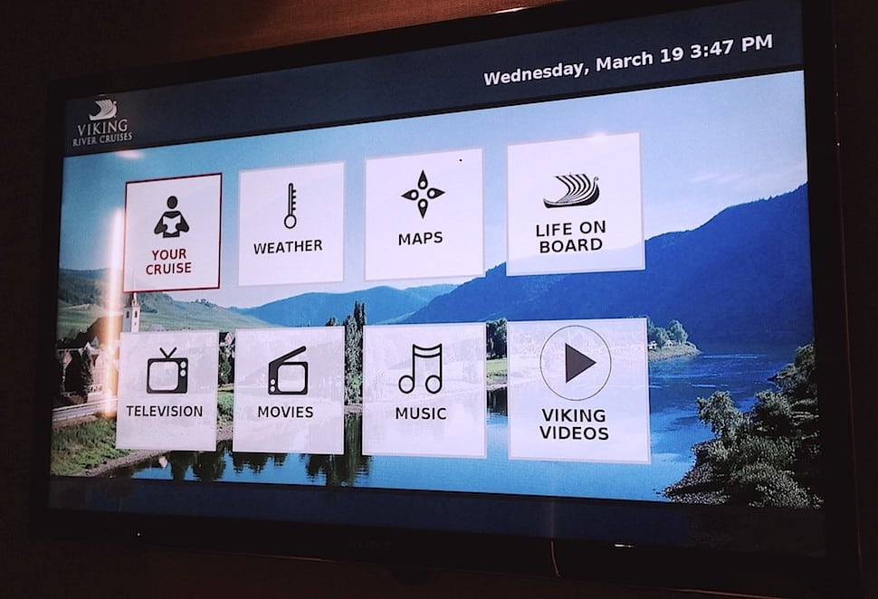 The Tech Innovations Onboard Viking's New River Cruise Ships