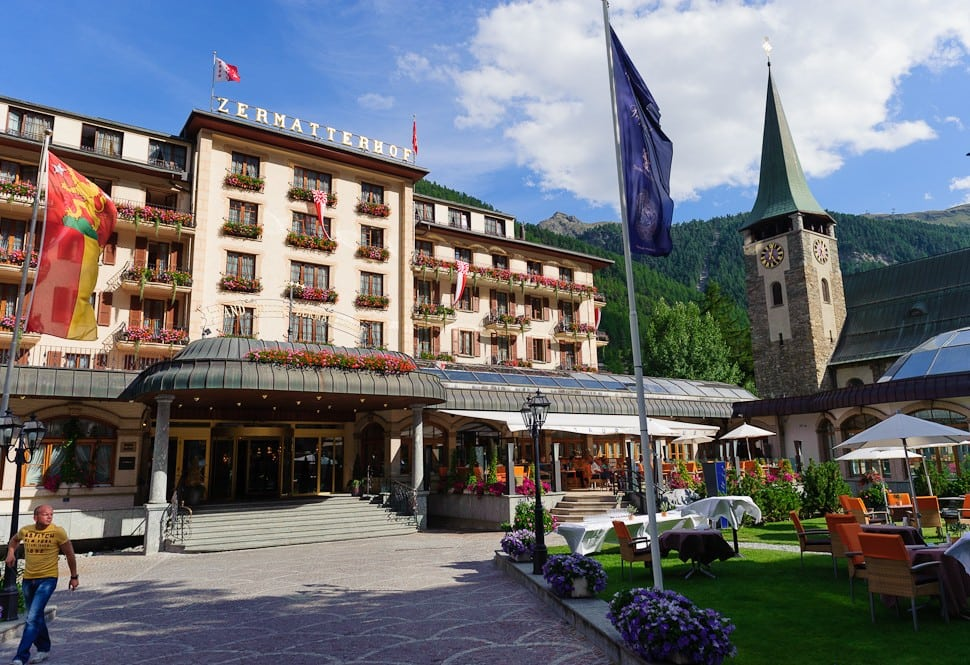 The season 16 finale brought Ben Flajnik and Courtney Robertson to Zermatt, Switzerland. The episode aired in March 2012 and, according to tourism officials, had a hand in the town's 15% increase in North American overnight visitors in 2013.  The Grand Hotel Zermatthof also reported that it almost doubled its number of North American guests from 2011 to 2012 -- the most significant impact that the Bachelor's had on a single hotel.