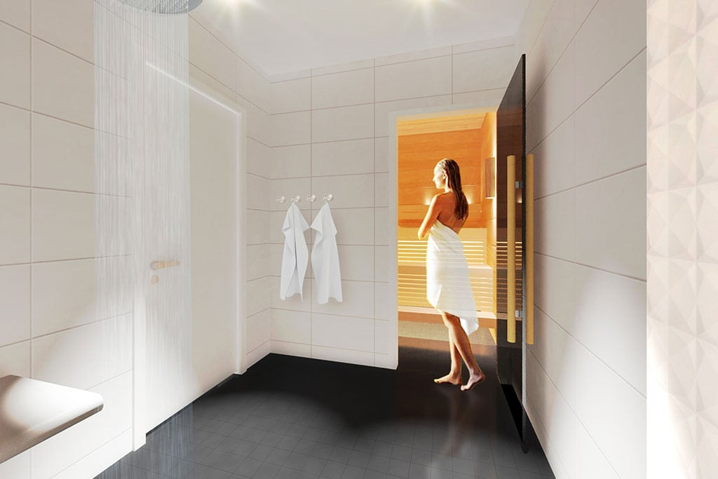 As part of the overall upgrade in lounge services in Helsinki, the customers of both the Premium Lounge and the adjoining original Lounge will also enjoy access to completely new private shower suites, as well as a Finnish sauna.