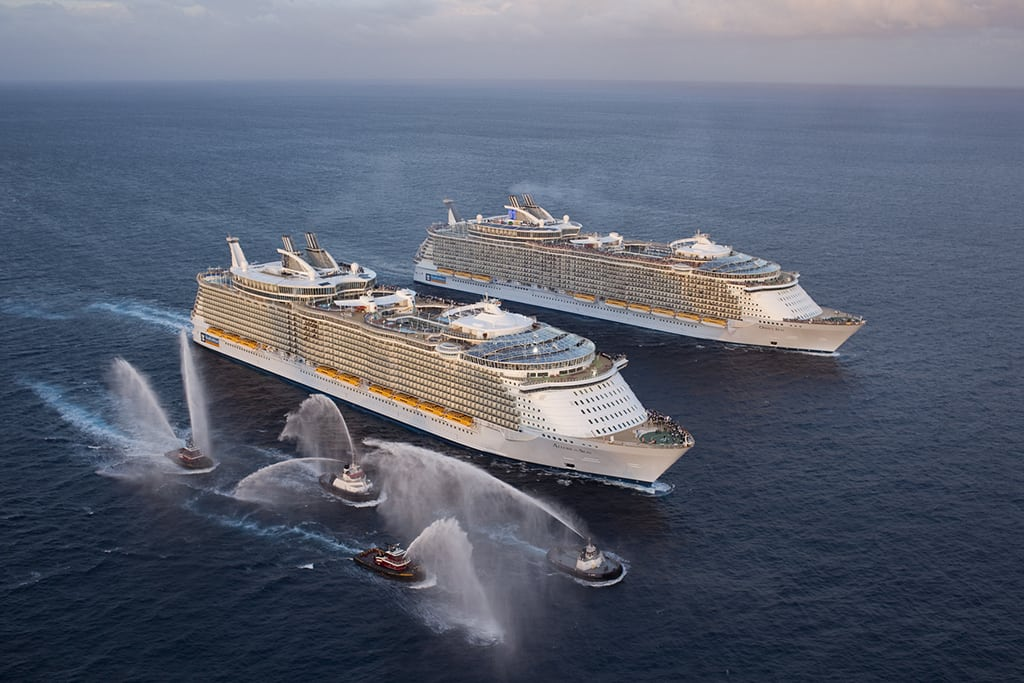 Royal Caribbean Became The Worlds Largest Cruise Line And Pretty - Biggest cruise ships list