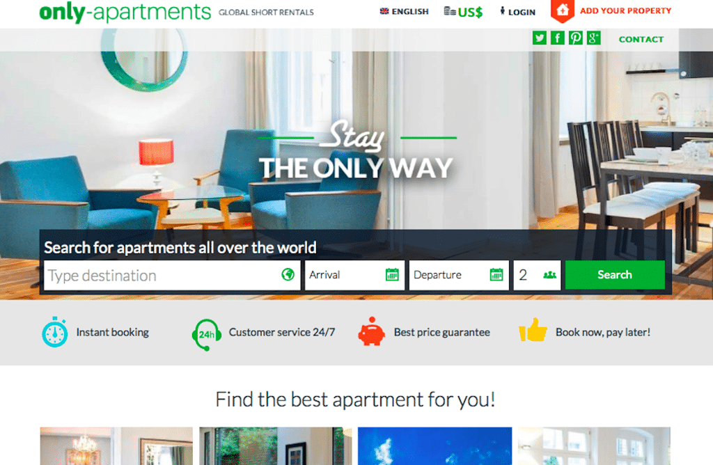 Spanish Apartment Share Site Only Apartments Goes Public, Sort Of