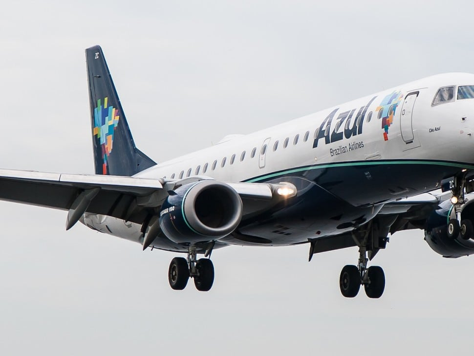 Brazil's Azul Airline Drops Nearly $2 Billion on Jets from Brazil's Embraer