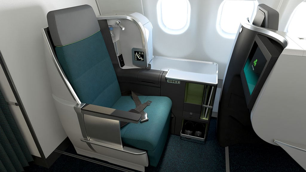 Aer Lingus' new business class.