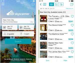 skyscanner iphone