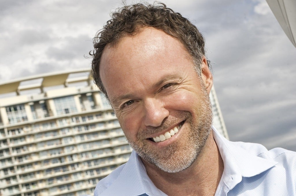 HomeAway co-founder and CEO Brian Sharples.