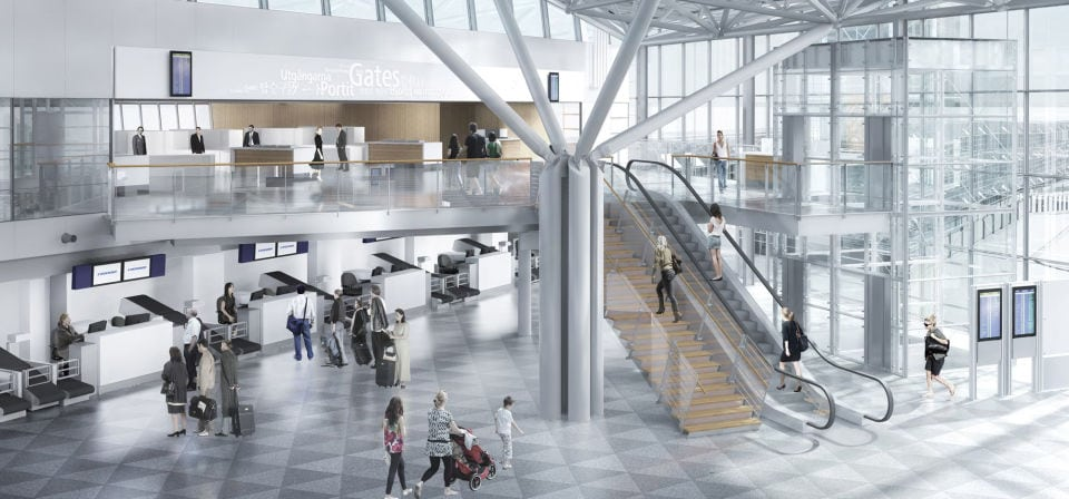 Helsinki Airport's Plan to Bring One Great Gateway Airport Under Just One Roof