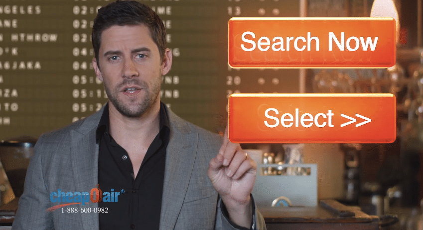 CheapOair's TV Ad Pitchman Inspired by the Trivago Guy