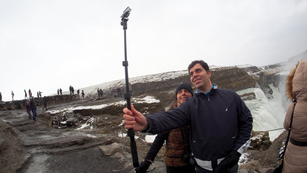 The Selfie Stick Was One of the Holidays' Hottest Gifts
