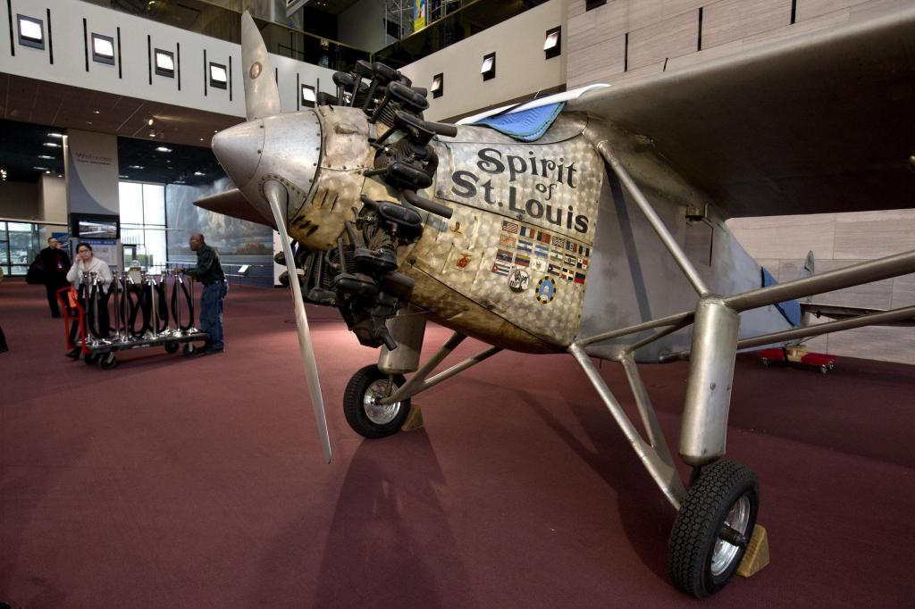 Lindbergh's Plane to Get Tender Loving Care, Lots of Visitors at Smithsonian