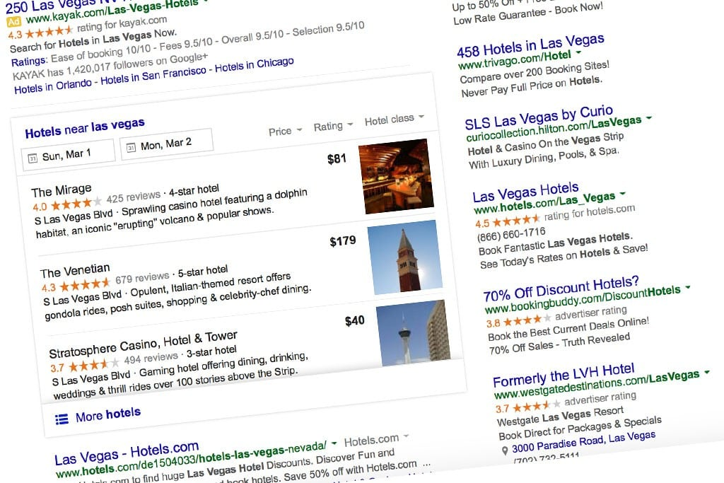 The search giant's improved metasearch product makes bookings faster.