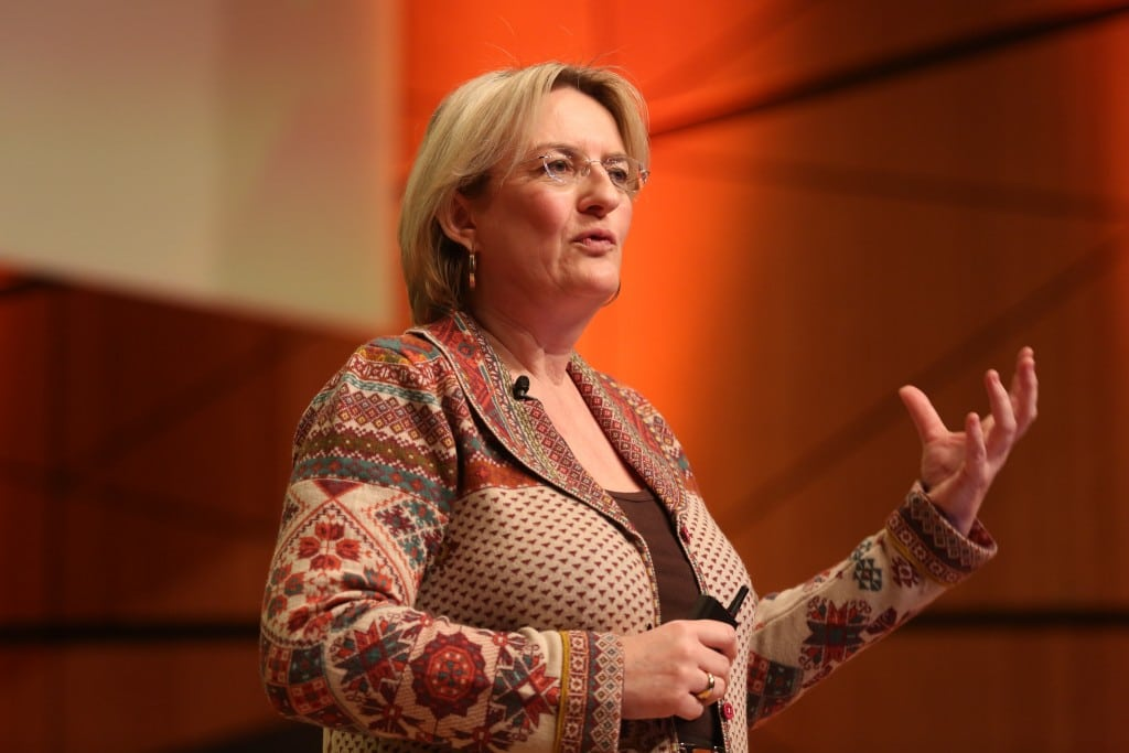Petra Hedorfer is the CEO of the National German Tourism Board.
