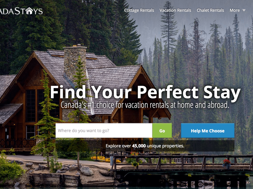 The Week in Travel Startup Funding: HomeAway Takes Stake in CanadaStays