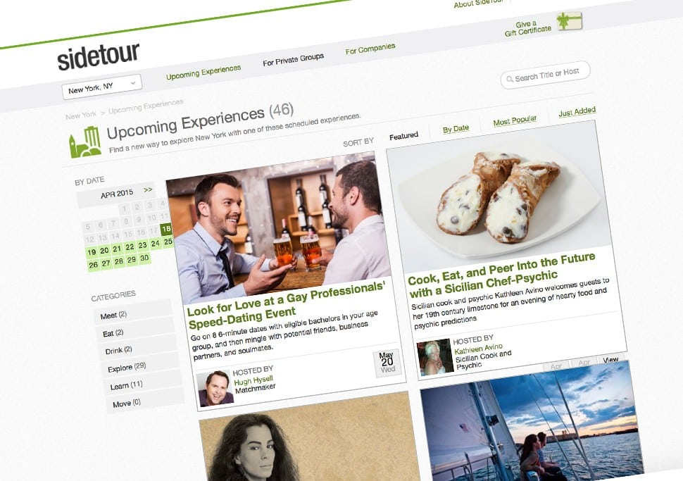 Groupon Closes SideTour and Shuts Down Its Tours Platform