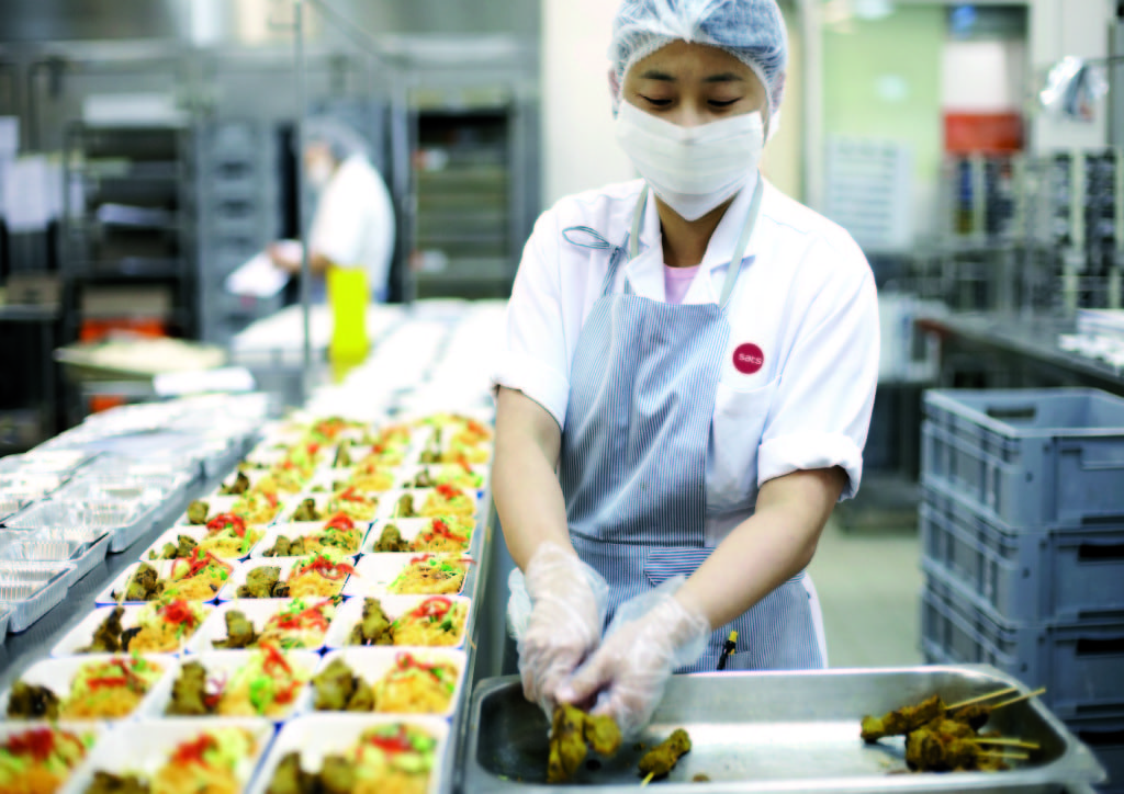 Secrets Of Airline Catering Kitchens Serving 100,000 Meals Per Day