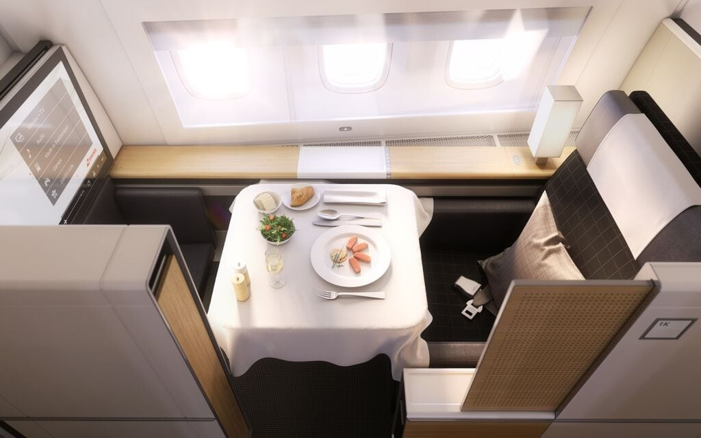 Good Taste and High-Tech Make Swiss' New Cabins a Haven for All Classes