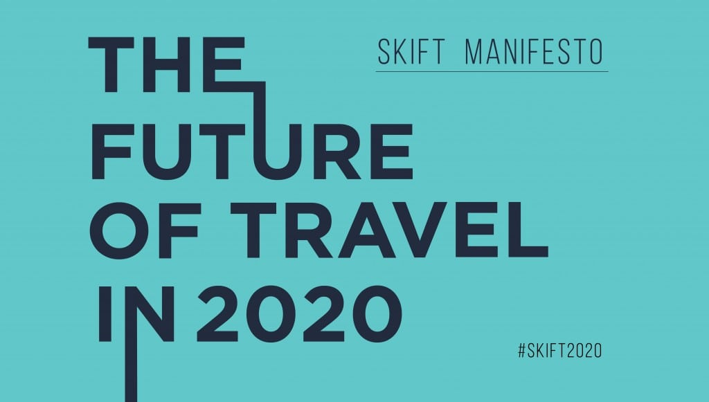 Are you building for the coming future of travel? Understand the bigger trendlines with Skift.